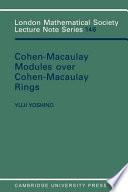 Maximal Cohen Macaulay Modules Over Cohen Macaulay Rings
