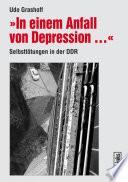 In einem Anfall von Depression ...