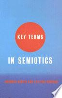 Key Terms in Semiotics