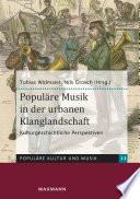 Populäre Musik in der urbanen Klanglandschaft