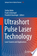 Ultrashort Pulse Laser Technology book
