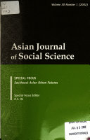 asian social science International journal of social science and humanity is an international academic open access journal which gains a foothold in singapore, asia and opens to the world.