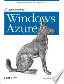 Programming Windows Azure