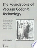 The Foundations of Vacuum Coating Technology Free download PDF and Read online