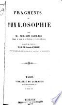 Fragments de Philosophie