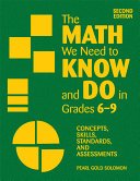 The Math We Need to Know and Do in Grades 6 9