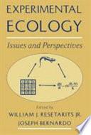 Experimental Ecology Book PDF