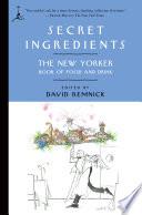 Book Secret Ingredients