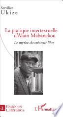 La pratique intertextuelle d Alain Mabanckou