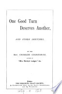 One Good Turn Deserves Another  and Other Sketches Book PDF