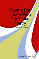 Poems for Those Who Don t Like Poetry