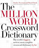 The Million Word Crossword Dictionary Than Twice As Many Answers