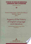 Aspects of the History of English Language and Literature