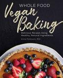 Book Whole Food Vegan Baking