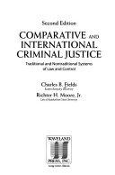 Comparative and International Criminal Justice
