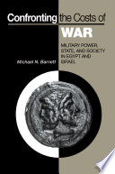 Confronting The Costs Of War book