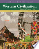 Western Civilization  A Brief History  Volume II  Since 1500
