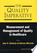 The Quality Imperative