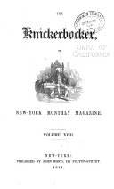 download ebook the knickerbocker; or, new-york monthly magazine pdf epub