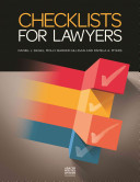 Checklists for Lawyers