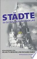 Städte im Globalisierungsdiskurs