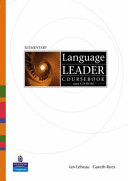 Language Leader Coursebook and CD-ROM.