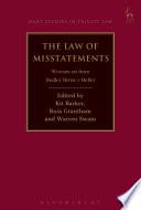 Law of Misstatements