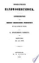 Biographisch handwoordenboek