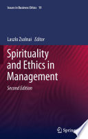 Spirituality And Ethics In Management book