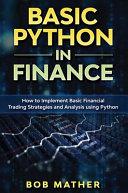 Basic Python In Finance