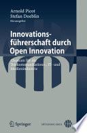 Innovationsf  hrerschaft durch Open Innovation