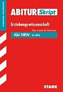 Erziehungswissenschaft, Gymnasium, Gesamtschule, NRW