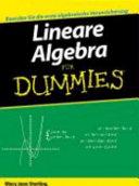 Lineare Algebra f  r Dummies