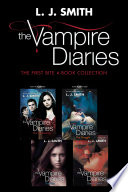 Vampire Diaries  The First Bite 4 Book Collection