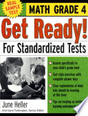 Get Ready  For Standardized Tests   Math Grade 4