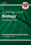 New A-Level Biology: AQA Year 1 & AS Complete Revision & Practice with Online Edition