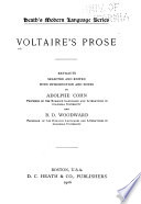 Voltaire s Prose