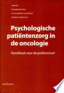 Psychologische Pati Ntenzorg In De Oncologie