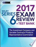 Wiley FINRA Series 6 Exam Review 2017