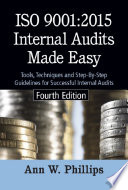 ISO 9001 2015 Internal Audits Made Easy  Fourth Edition