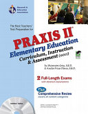 The Best Teachers  Test Preparation for the Praxis II Elementary Education