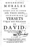 download ebook réflexions morales pour chaque jour de l'année sur trois cent soixante-six versets tirez des pseaumes de david pdf epub
