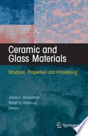 Ceramic and Glass Materials