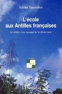 illustration L'école aux Antilles françaises