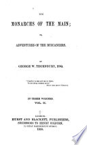 The Monarchs of the Main  Or  Adventures of the Buccaneers