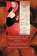 The Culture of the Publisher's Series, Volume One