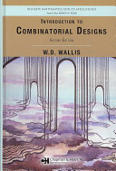 Introduction to Combinatorial Designs  Second Edition