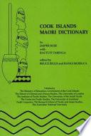Cook Islands Maori Dictionary