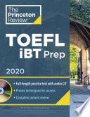 Princeton Review TOEFL IBT Prep with Audio CD 2020