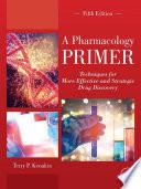 A Pharmacology Primer Book PDF